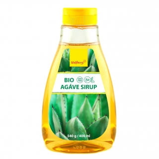 Agáve sirup BIO 400ml Wolfberry