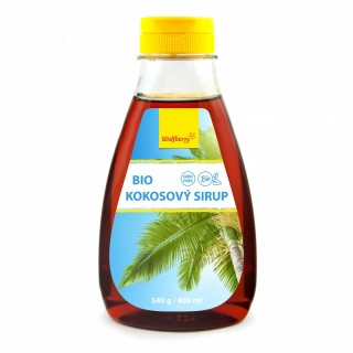 KOKOSOVÝ SIRUP 400ml |  Wolfberry