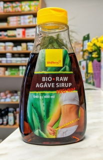 AGÁVE SIRUP RAW Premium Wolfberry 400 ml| Wolfberry