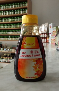 JAVOROVÝ SIRUP HQ  400ml | Wolfberry