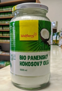 KOKOSOVÝ OLEJ HQ 1000ml | Wolfberry