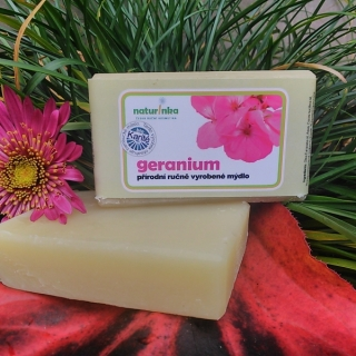 GERANIUM MÝDLO  NORMAL 110G | NATURINKA